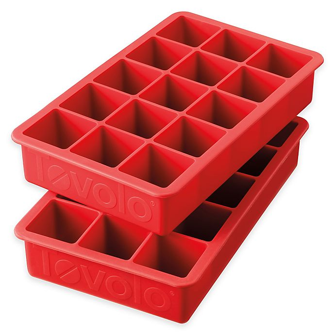 Alternate image 1 for Tovolo® Perfect Ice Cube Trays (Set of 2)