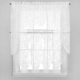 Dogwood Window Curtain Tier and Valance Collection