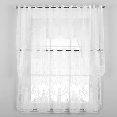 Heritage Lace® Lighthouse Window Curtain Tier and Valance
