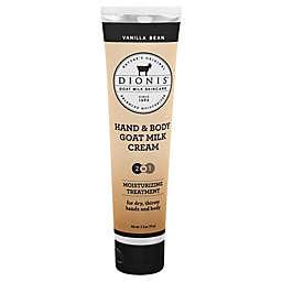 Dionis® 3.3 oz. Hand & Body Goat Milk Cream Moisturizing Treatment in Vanilla Bean
