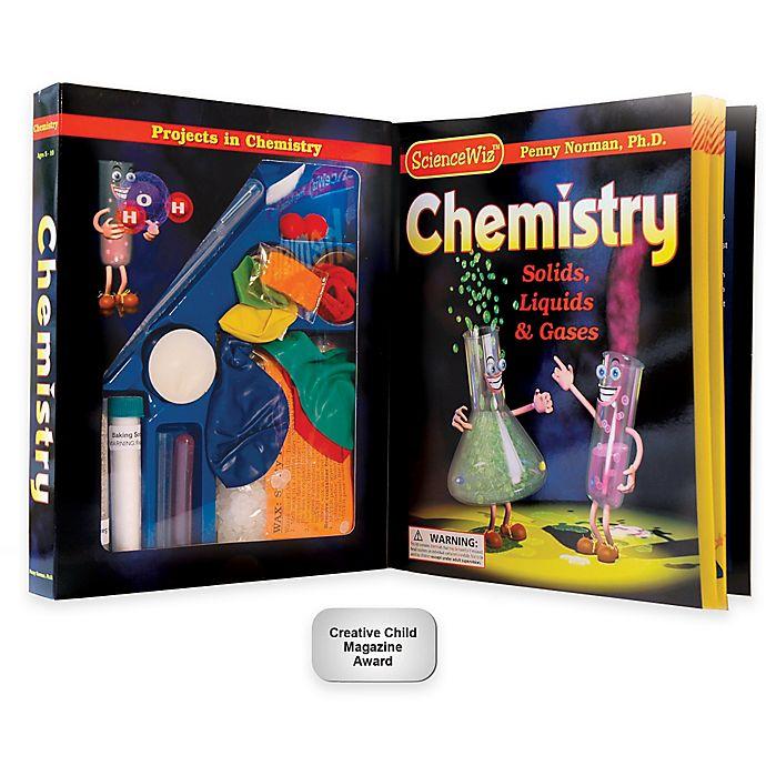 Alternate image 1 for ScienceWiz™ Chemistry Kit