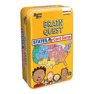 Brain Quest States Card Game