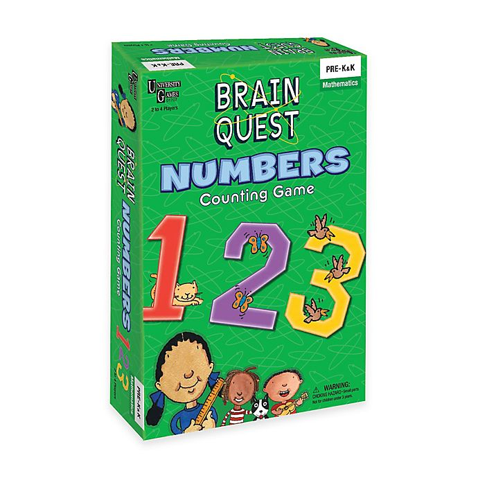 Alternate image 1 for Brain Quest Numbers Counting Game