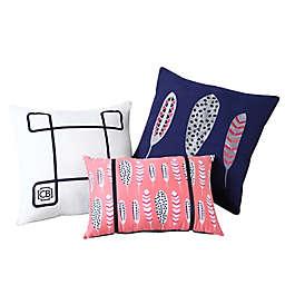 VCNY Home 3-Piece Clairebella Indoor/Outdoor Throw Pillow Set
