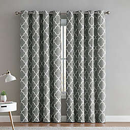 VCNY Home® Trellis 2-Pack Grommet Room Darkening Window Curtain Panels