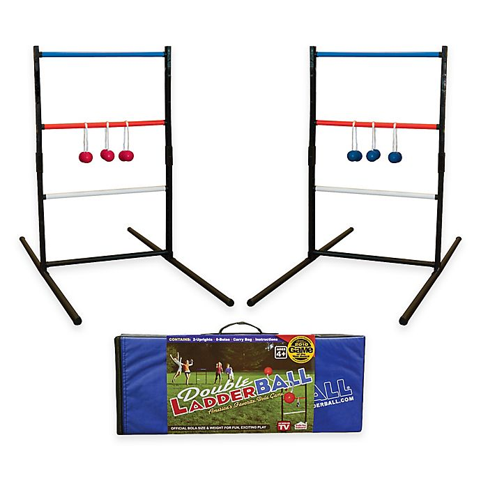 Alternate image 1 for Double LadderBall Game