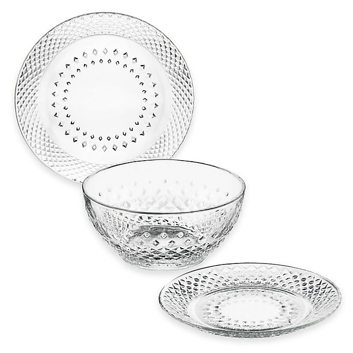 Alternate image 1 for Libbey® Glass Montclair Dinnerware Collection
