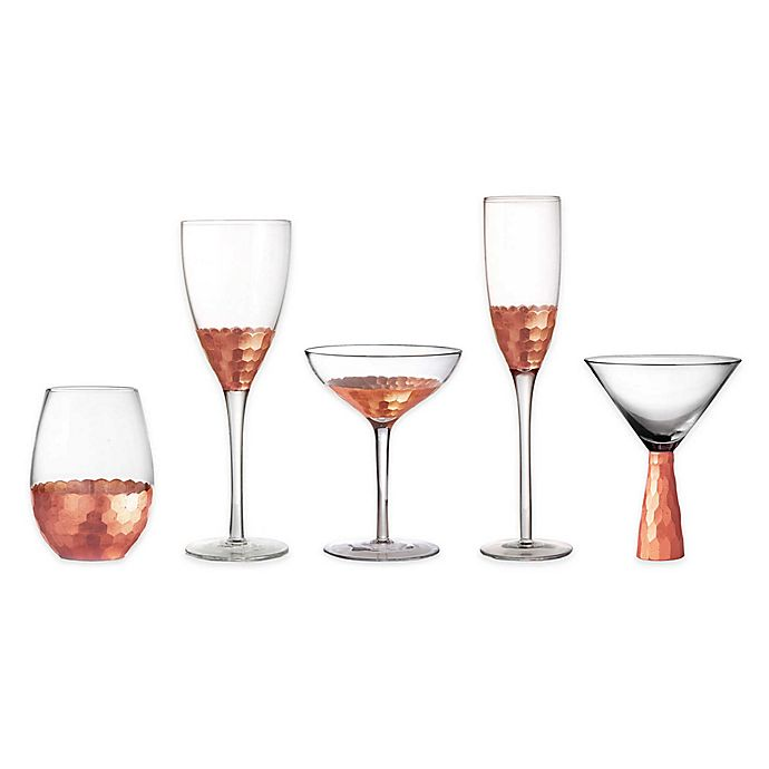 Alternate image 1 for Fitz and Floyd® Daphne Copper Wine & Bar Collection