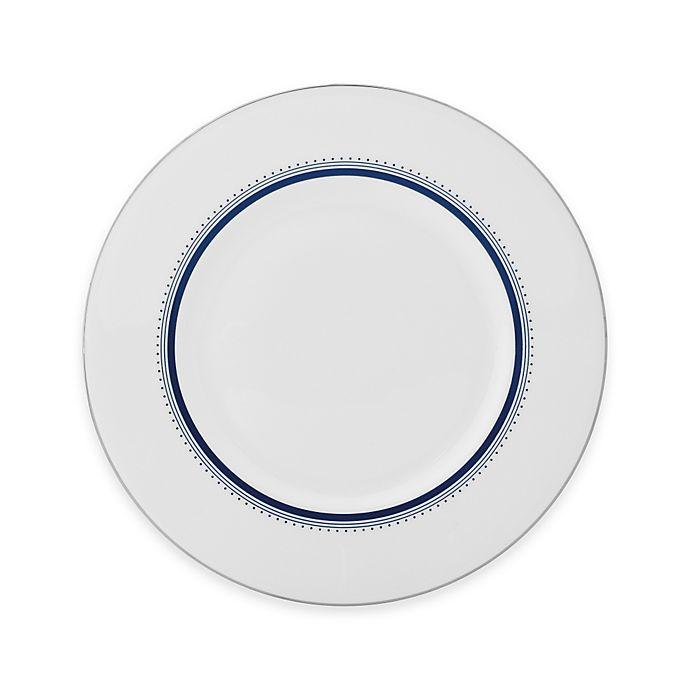 Alternate image 1 for Vera Wang Wedgwood® Grosgrain Indigo Accent Plate