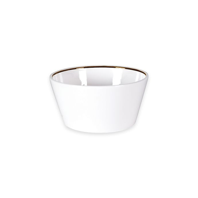 Alternate image 1 for Olivia & Oliver® Madison Gold Fruit Bowl