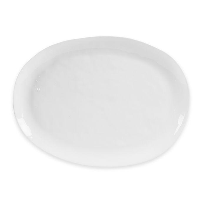 Alternate image 1 for Olivia & Oliver® Harper Organic Shape 16-Inch Oblong Platter