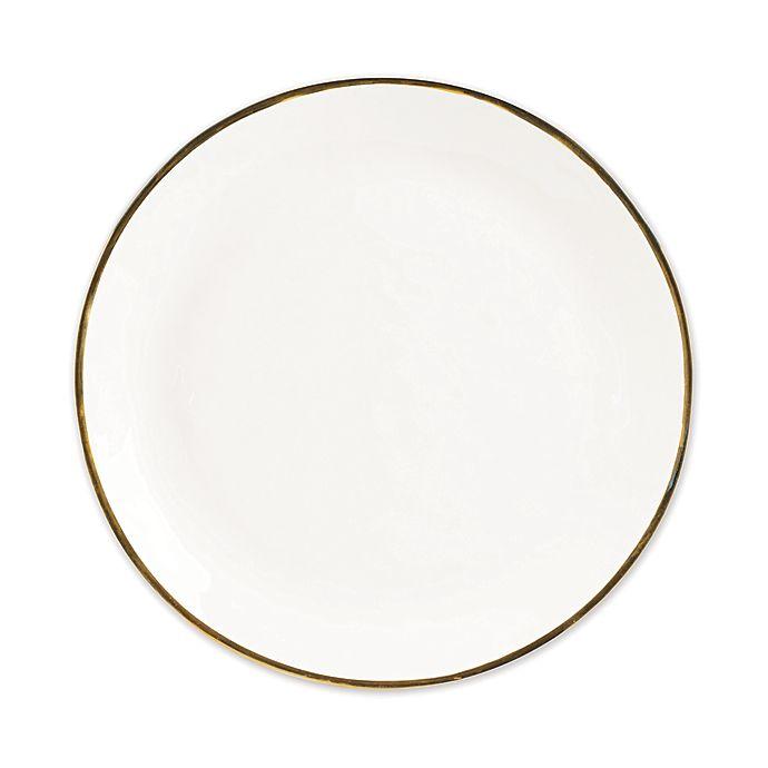 Alternate image 1 for Olivia & Oliver Harper Organic Shape Gold Dinner Plate