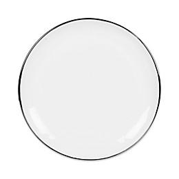 Olivia & Oliver™ Harper Organic Shape Platinum Dinner Plate