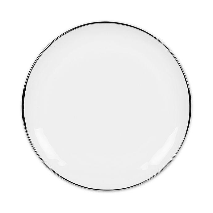 Alternate image 1 for Olivia & Oliver™ Harper Organic Shape Platinum Dinner Plate