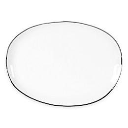 Olivia & Oliver™ Harper Organic Shape Platinum 16-Inch Oblong Platter
