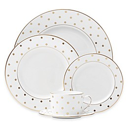 kate spade new york Larabee Road™ Gold 5-Piece Place Setting