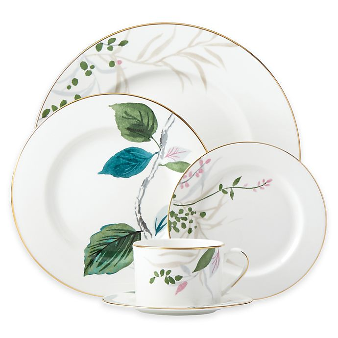 Alternate image 1 for kate spade new york Birch Way™ 5-Piece Place Setting