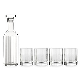 Luigi Bormioli Bach SON.hyx 5-Piece Decanter Set