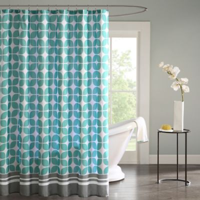 intelligent design lita shower curtain bed bath   beyond
