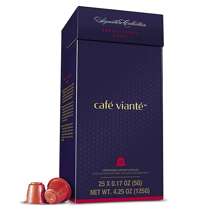 Alternate image 1 for Café Viante® 25-Count Brazil Lungo Forte Espresso Capsules