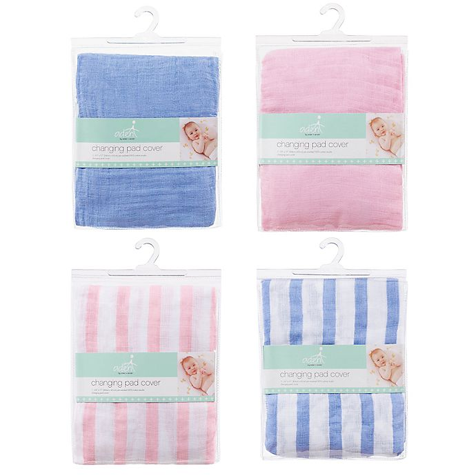 Alternate image 1 for aden + anais™ essentials Changing Pad Covers