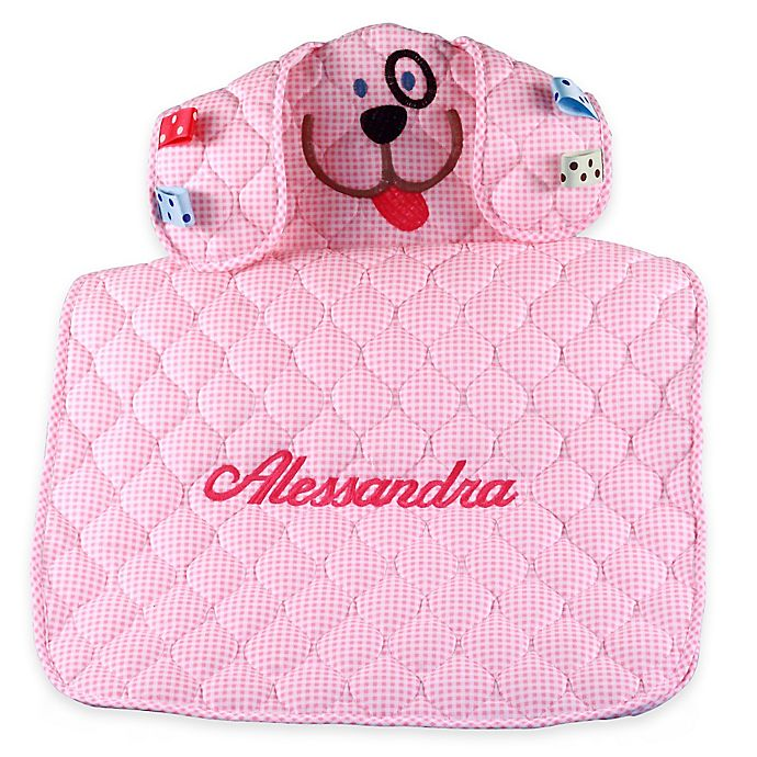 Alternate image 1 for Silly Phillie® Creations Puppy Changing Mat in Pink