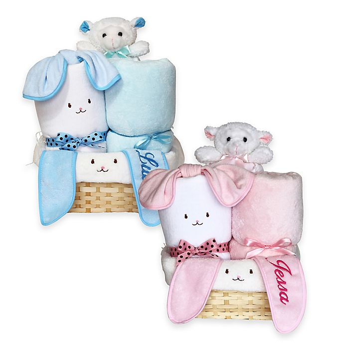Alternate image 1 for Silly Phillie® Creations Snuggle Bunny Gift Basket