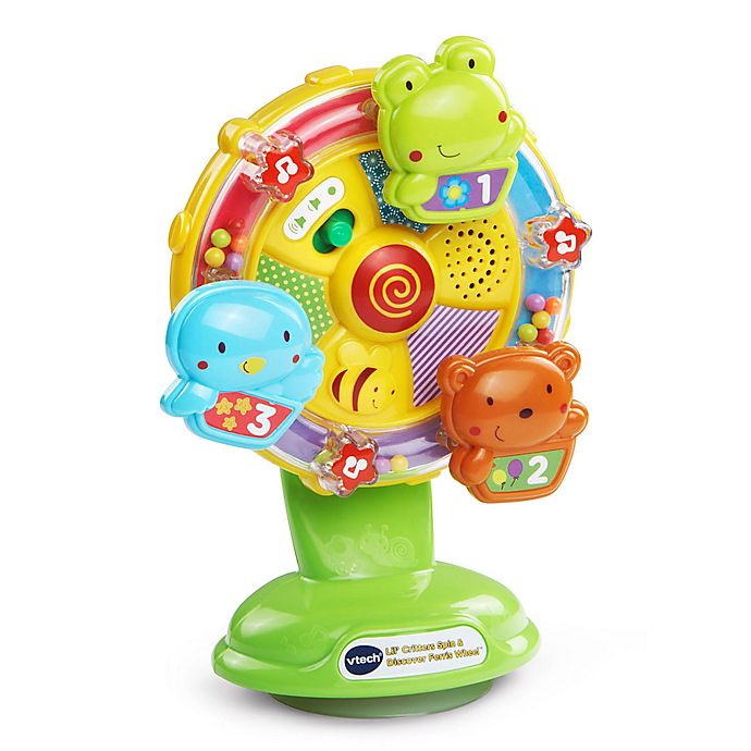 Alternate image 1 for VTech® Lil' Critters Spin and Discover Ferris Wheel