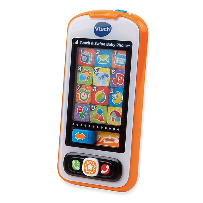 Alternate image 1 for VTech® Touch and Swipe Baby Phone