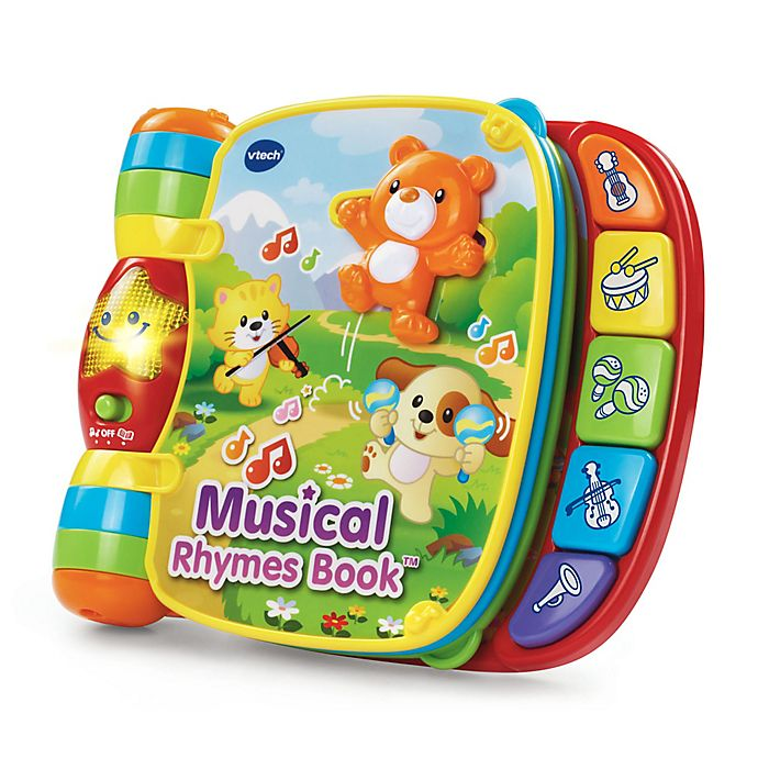 Alternate image 1 for VTech®  Musical Rhymes Book