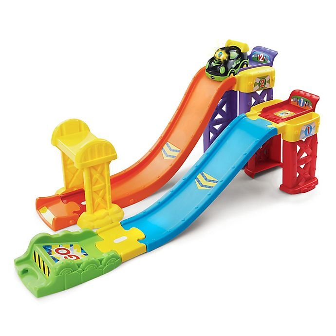 Alternate image 1 for VTech® Go! Go! Smartwheels 3 in 1 Launch and Play Raceway