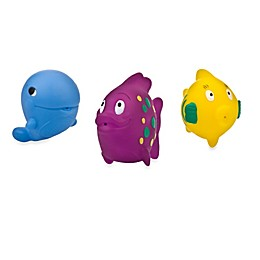 Nuby™ 3-Pack Fun Fish Bath Squirters