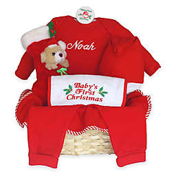 Silly Phillie® Creations Size 6-9M Baby's First Christmas Gift Basket