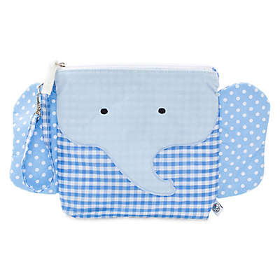 Nikiani My First Buddy Charlie Blue Elephant Snack Bag
