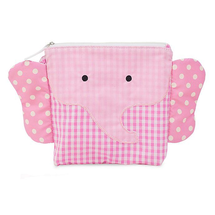 Alternate image 1 for Nikiani My First Buddy Ellie Pink Elephant Snack Bag