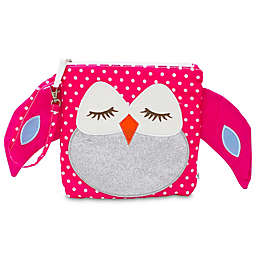 Nikiani My First Buddy Stella Pink Owl Snack Bag