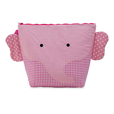 Nikiani Forever Young Ellie Pink Elephant Wet + Dry Backpack