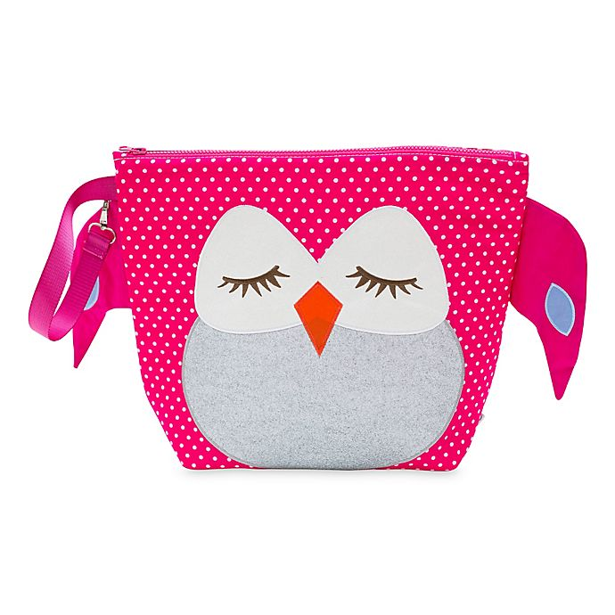 Alternate image 1 for Nikiani Forever Young Stella Pink Owl Backpack