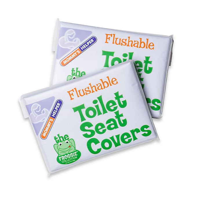 Alternate image 1 for Mommy's Helper™ 20-Pack Flushable Toilet Seat Covers