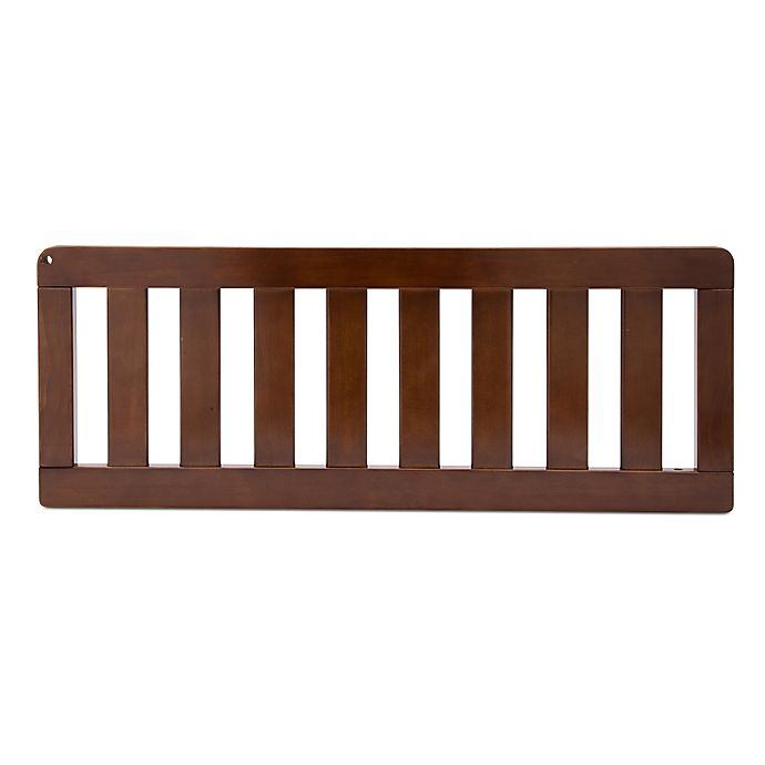 Alternate image 1 for Simmons Kids® Bellante Toddler Guard Rail in Espresso Truffle