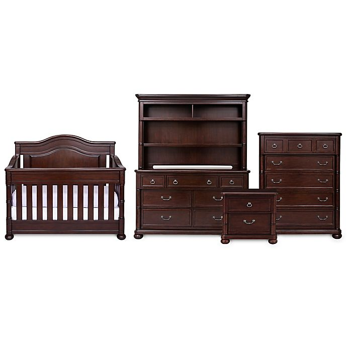 Simmons Kids High Point Nursery Furniture Collection In