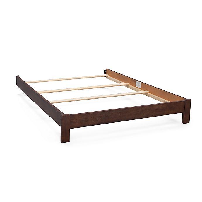 Alternate image 1 for Serta® Northbrook Full Size Platform Bed Kit in Rustic Oak