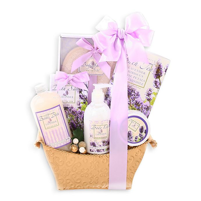 Alternate image 1 for Alder Creek Lovely Lavender Gift Basket