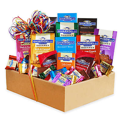 California Delicious Rainbow of Ghirardelli Collection Gift Set