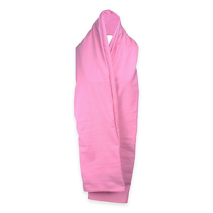 Alternate image 1 for TrendsFormers  Waterproof Reversible Hooded Scarf in Pink