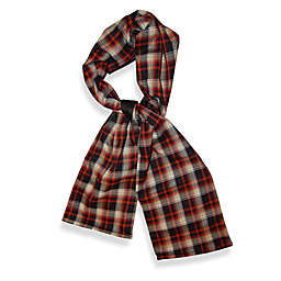 TrendsFormers  Waterproof Reversible Hooded Scarf in Plaid