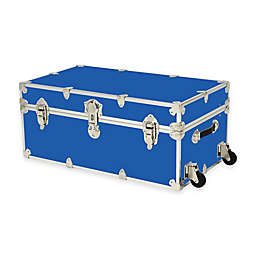 Rhino Trunk and Case™ Large Rhino Armor Trunk with Removable Wheels in Royal Blue
