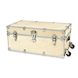 Rhino Trunk and Case™ Large Naked Rhino Armor Trunk with Removable Wheels
