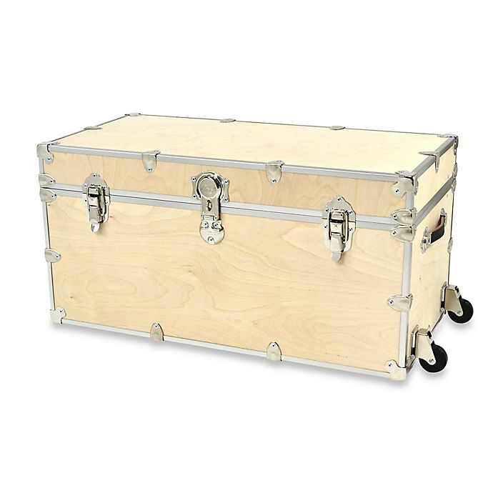 Alternate image 1 for Rhino Trunk and Case™ XXL Naked Rhino Trunk with Removable Wheels