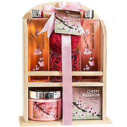 Freida & Joe Wood Cherry Fragrance Spa Gift Set